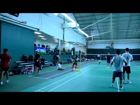 2012 Baltimore Badminton Charity Open Men's Double Div-C Semi Final