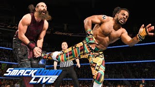 The New Day vs. The Bludgeon Brothers: SmackDown LIVE, March 27, 2018