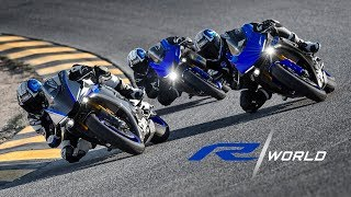 YAMAHA R WORLD. CHOOSE YOUR DESTINY.