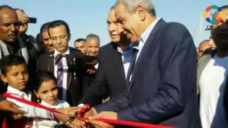 فيديو وصور| وزير التجارة يفتتح مصنعين بالمنطقة الصناعية بنجع حمادي | النجعاوية