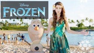 "Laura Marano ""do You Wanna Build A Snowman"" Frozen Christmas Celebration 2014"