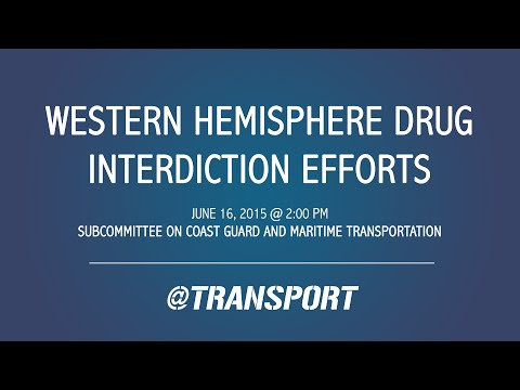 Western Hemisphere Drug Interdiction Efforts