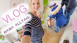 Leona lernt Fahrrad fahren | Familien Alltag | Haushalt | 27 SSW | Isabeau