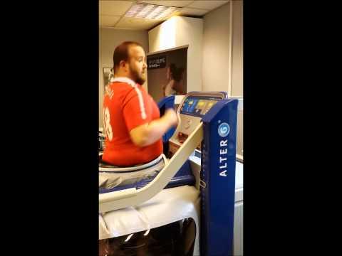 AlterG Anti Gravity Treadmill Review for Man V Fat