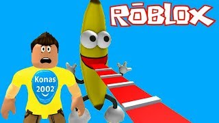 Roblox Escape Banana Guy & CandyLand Obby ! || Roblox Gameplay || Konas2002