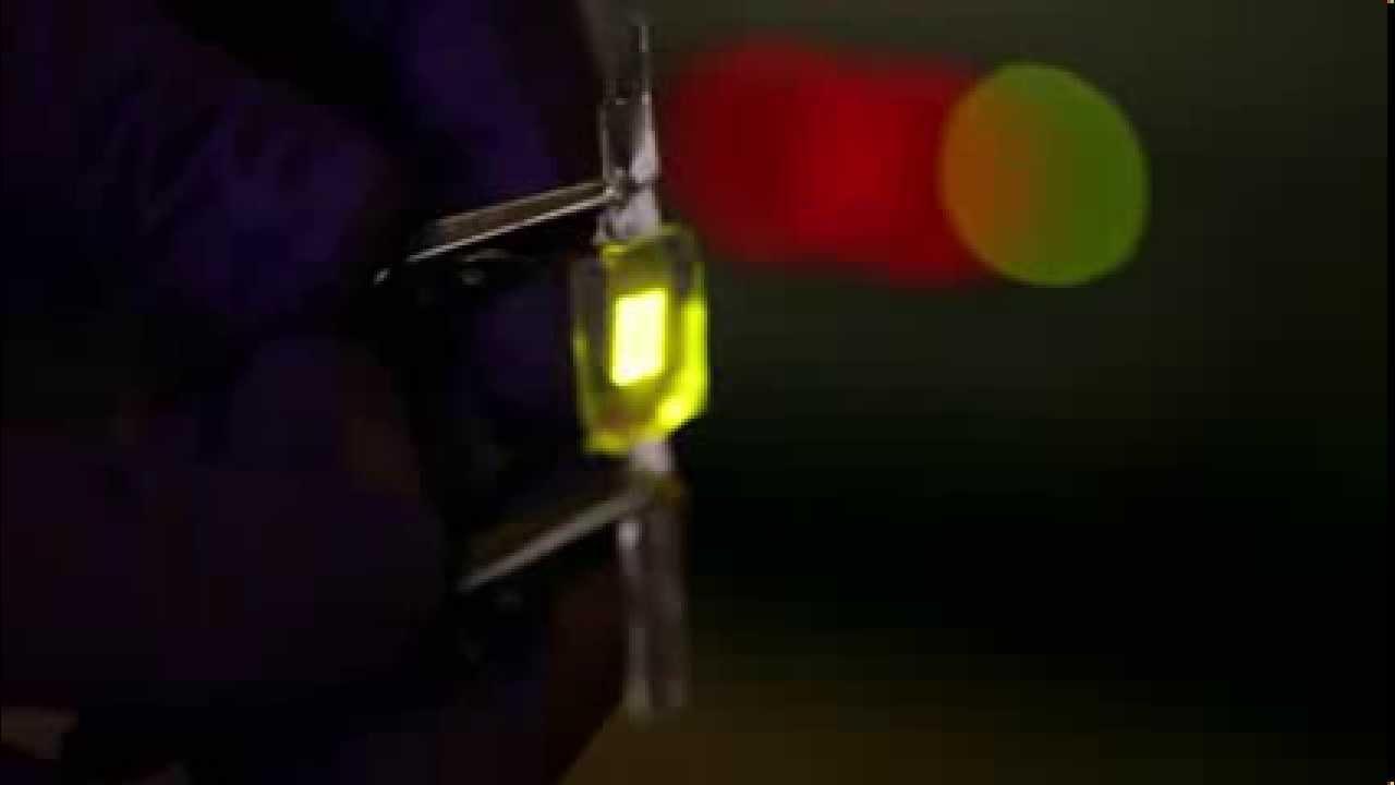 UCLA Engineering develops flexible and stretchable LEDs - YouTube
