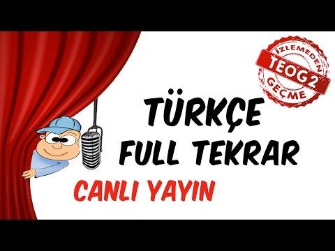 8.2 Türkçe Genel Tekrar