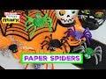 Creepy Cute Paper Spiders