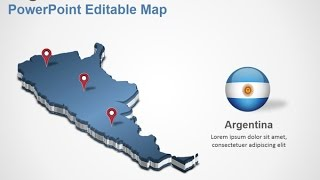 Argentina PowerPoint Map Slides - DigitalOfficePro #002M00