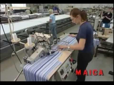 Automatic Shirt Front Sewing Machine Wmv YouTube Gorgeous Automatic Sewing Machine For Shirts