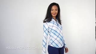 UV 50 Cooling Mock 900463 Hop Scotch Blue