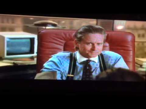 Wall Street - Bud Fox Meets Gordon Gekko