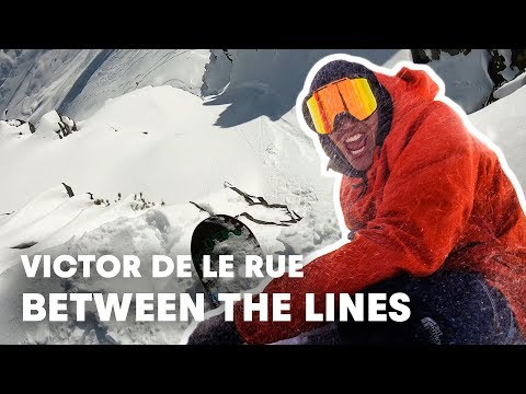 Searching The Perfect Line At Freeride World Tour | Between The Lines
