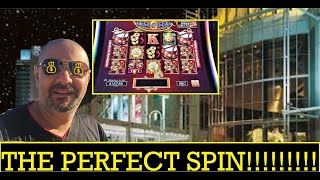 I GOT THE PERFECT SPIN ON DANCING DRUMS SLOT MACHINE!⭐️MY DAY⭐️ AT CASINO DU LAC-LEAMY EPISODE 4!