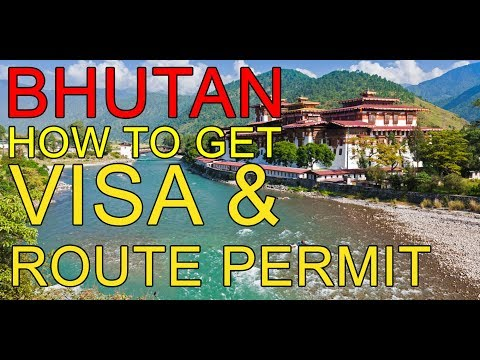 How To Visit BHUTAN || VISA - HOTEL- ROUTE PERMIT || HINDI  Vlog 1