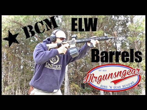BCM Enhanced Lightweight (ELW) AR-15 Barrel Accuracy Test & Review