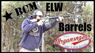 Video BCM Enhanced Lightweight (ELW) AR-15 Barrel Accuracy Test & Review download MP3, 3GP, MP4, WEBM, AVI, FLV Juli 2018