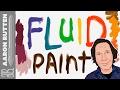 Fluid Paint - WebGL Realistic Liquid Pai