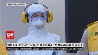 Live streaming 24 jam: https://www.cnnindonesia.com/tv kewaspadaan untuk mencegah masuknya virus corona di bandara soekarno hatta sebagai salah satu gerbang ...