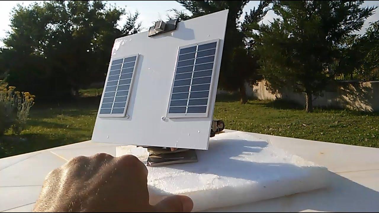 DIY Simple Solar Tracker #2 - YouTube