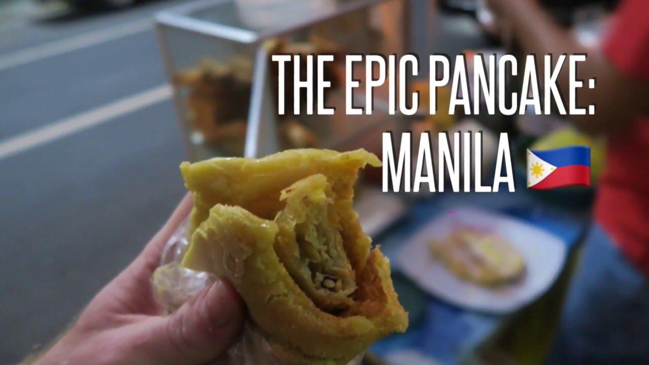 MANILA ?? Philippines Street Food Munchies: The Pancake-Springroll Hotdog ?  #FIRE Ep.7 ?