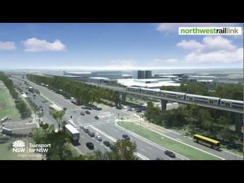 Northwest Rail Link - Rouse Hill Station