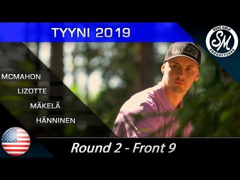 Tyyni 2019 | Round 2 Front 9 | McMahon, Lizotte, Mäkelä, Hänninen