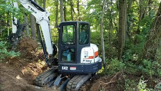 Installing ditch crossing, culvert pipe & watering hole PART 1!
