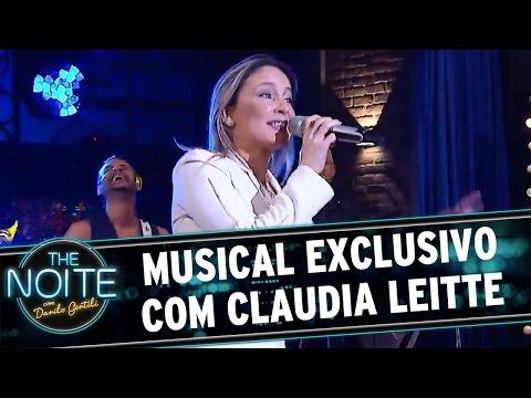 The Noite (18/05/16) Musical exclusivo com Claudia Leitte