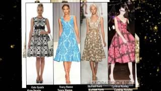 видео Самые модные фасоны летних платьев 2015