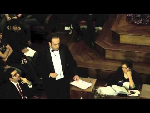 Barak Seener on the Arab Spring, speaking at The Cambridge Union Society