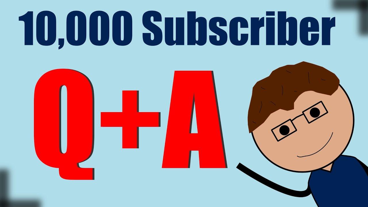10,000 SUBSCRIBERS?! - YouTube