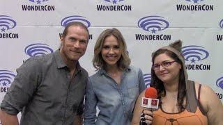 Midnight Texas - Jason Lewis & Arielle Kebbel - WonderCon 2017 | yael.tv
