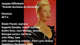 offenbach,Grande duchesse de Gerolstein,act 1