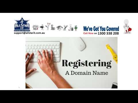 How to Register a Domain Name in Australia