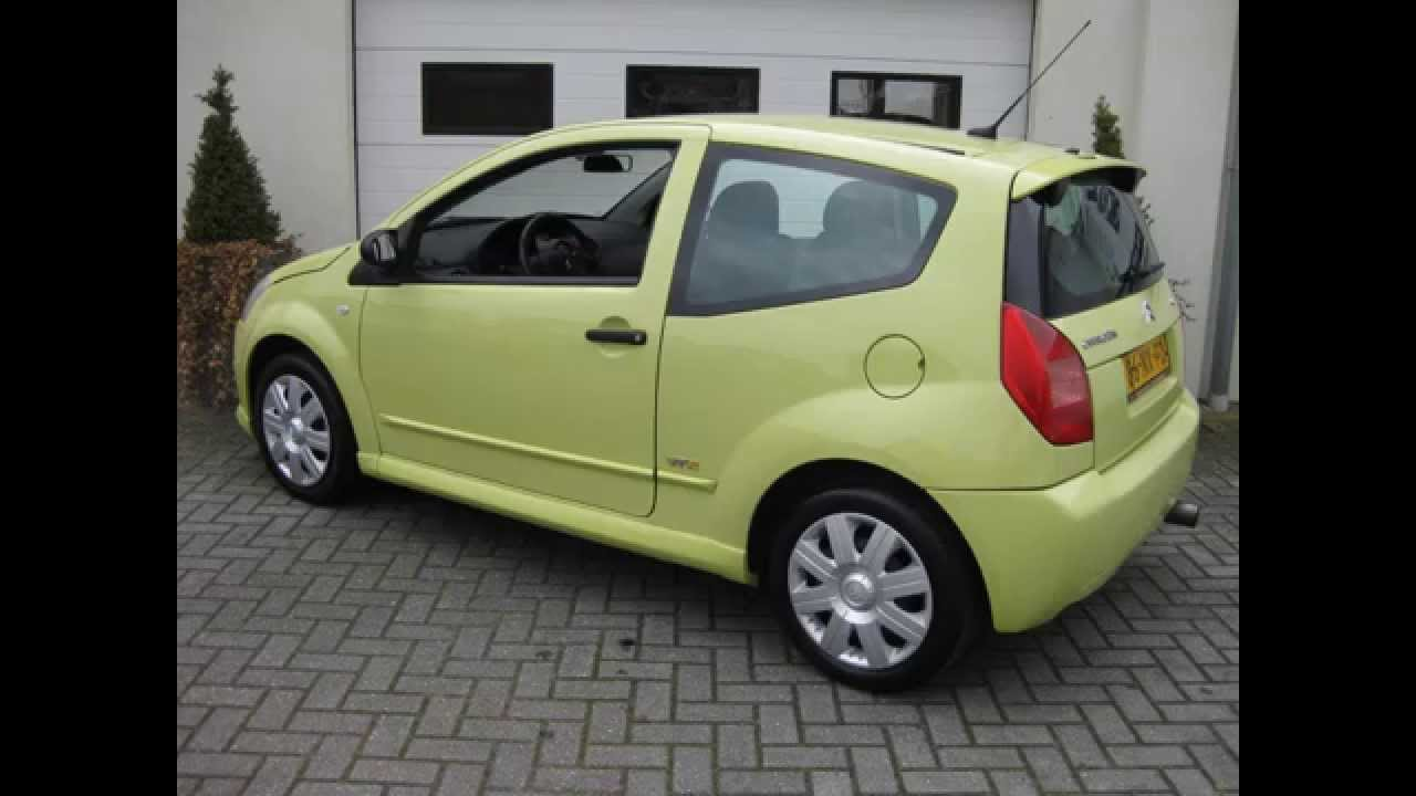 citroen c2 1 4 vtr airco cruise 2004 ten dam auto 39 s haaksbergen bovag autobedrijf youtube. Black Bedroom Furniture Sets. Home Design Ideas
