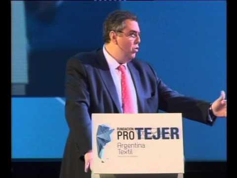 PRO TEXTIL.12 Discurso Ing Marco Meloni Presidente de la Fundación Pro Tejer