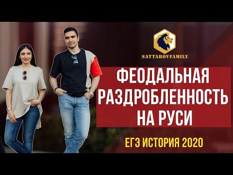 Феодальная раздробленность на Руси / ЕГЭ по истории