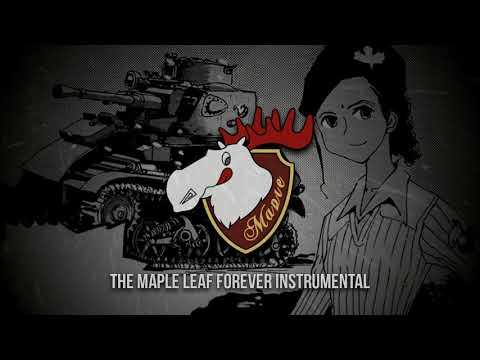 Girls und Panzer Unofficial Hymn   Maple High School   The Maple Leaf Forever   Instrumental