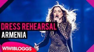 "Armenia: Iveta Mukuchyan ""LoveWave"" grand final dress rehearsal @ Eurovision 2016   wiwibloggs"