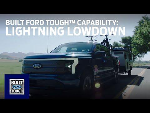 F-150 Lightning Lowdown: Built Ford Tough™ Capability | Ford