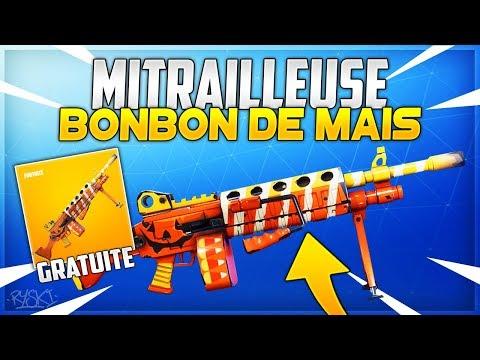 Fortnite : La Nouvelle Arme D'Hallowen sur Fortnite Sauver le Monde !! - ( Bonbon de Maïs )
