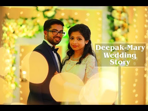 Kerala Stylish Christian Wedding Highlight In Kochi |Deepak-Mary|From Crystalline Studio