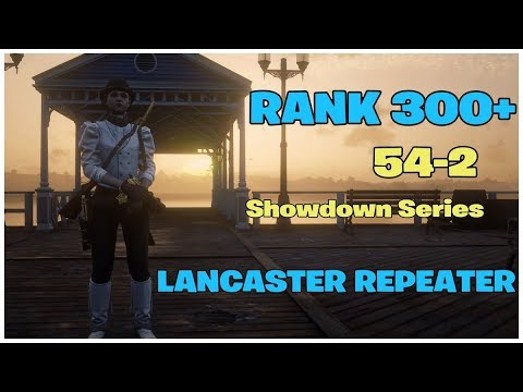 RED DEAD REDEMPTION 2 ONLINE RANK 309 // SHOWDOWN SERIES 54-2 // LANCASTER REPEATER thumbnail