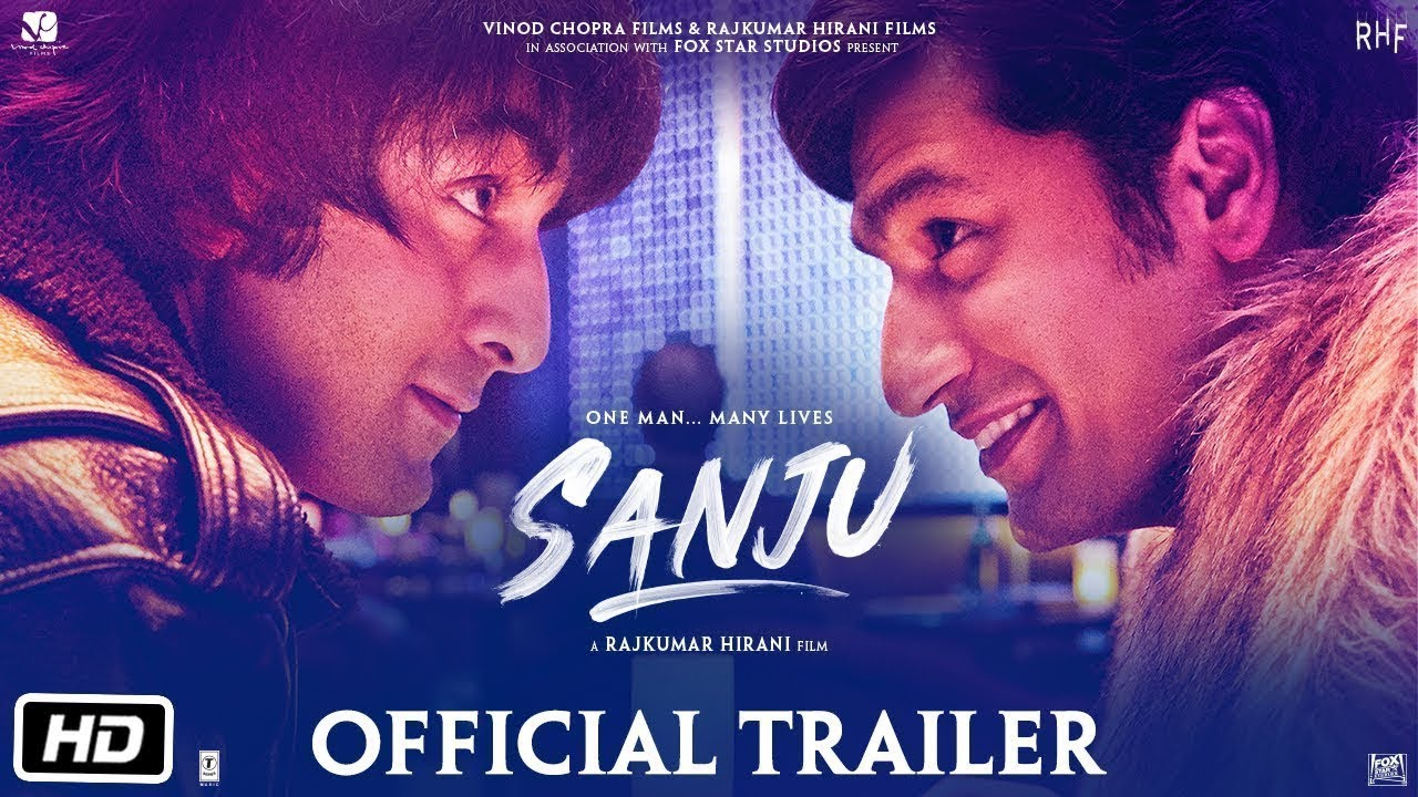 Sanju Official Trailer #2 Ranbir Kapoor as Sanjay Dutt ...