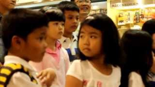 Calista Amadea amp; Ari A Riyanto  Bintang Kecil  Disc Tarra PIM1 Jakarta (live)