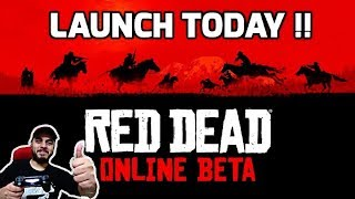 Red Dead 2 ONLINE Launched !! Watch how to play !! SURPRISE :)