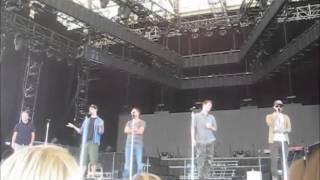 Backstreet Boys Soundcheck Party - Q (Brian afirma que o BSB virá ao Brasil em 2014)