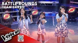 Camille, Ramjean, & Yshara - Mundo | Battle Rounds | The Voice Kids Philippines Season 4