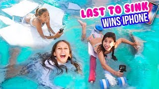 LAST TO SINK WINS IPHONE - Challenge